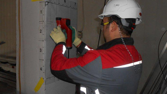 Concrete durability and protective covering inspection