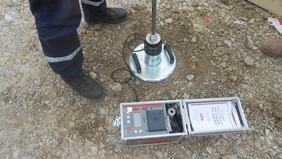 Тесты уплотнение грунта